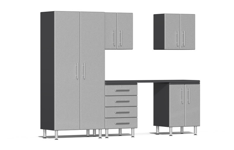 Ulti-MATE Garage 2.0 Series 6-Piece Kit with Workstation